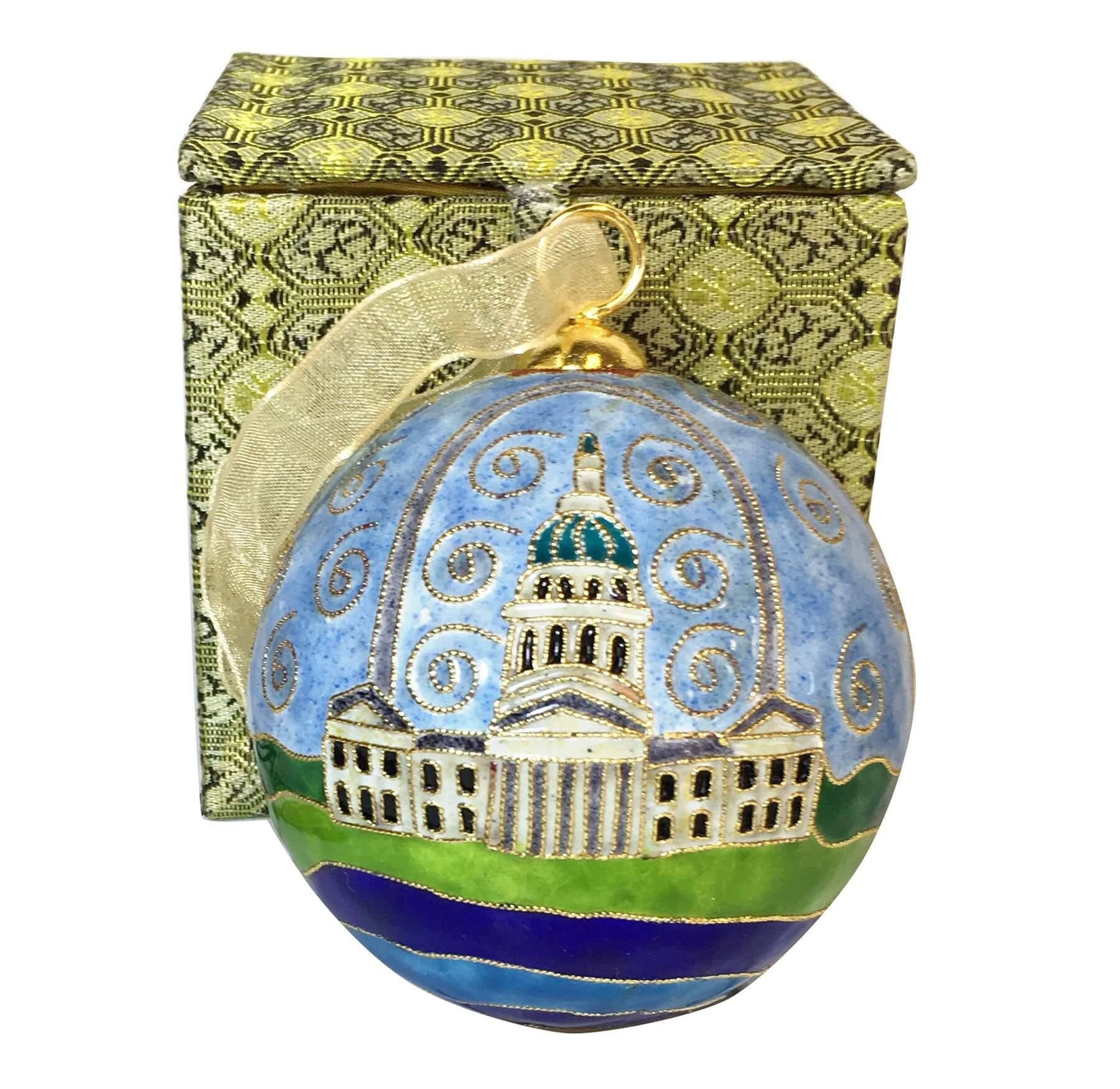 Arch Cloisonné Ornament