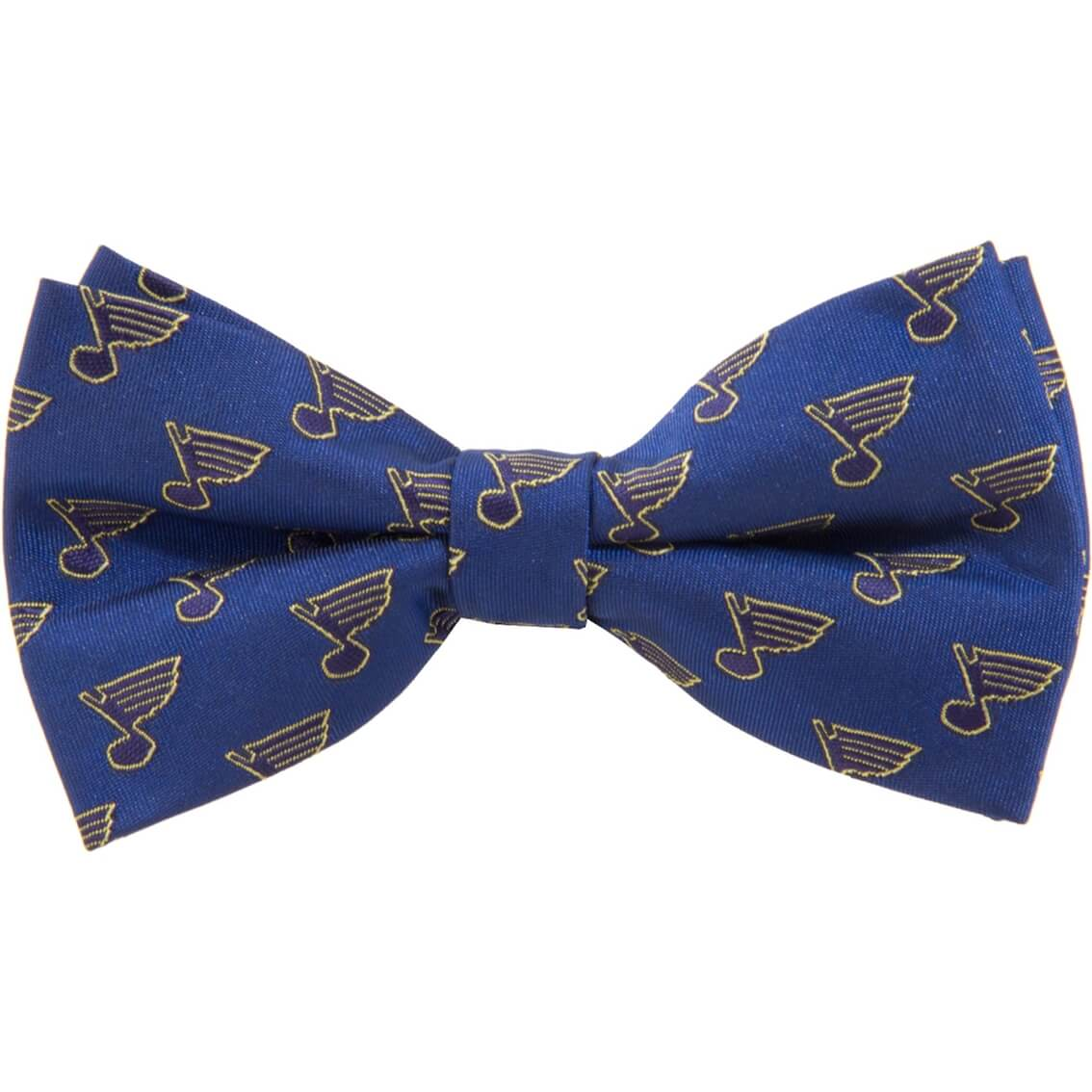 Blues logo bow tie