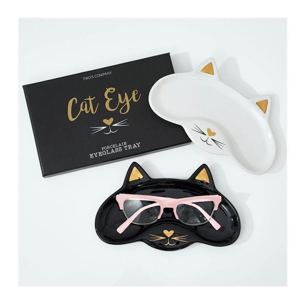 Cat Eye Porcelain Eyeglasses tray