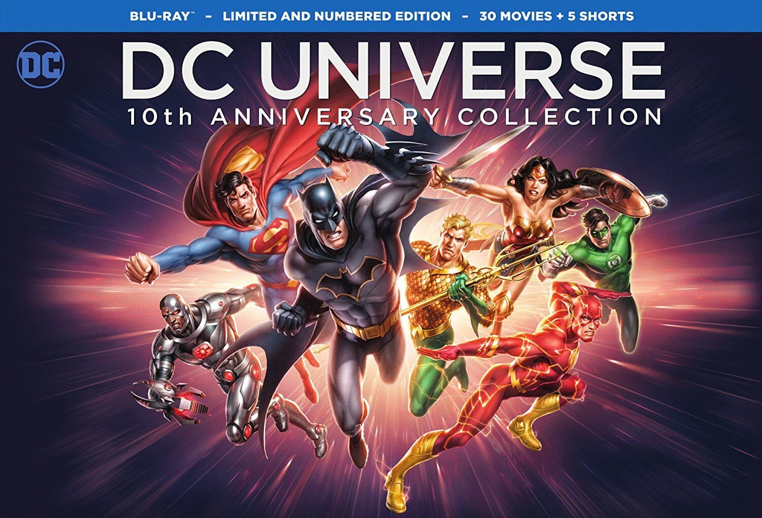 DC Universe box set
