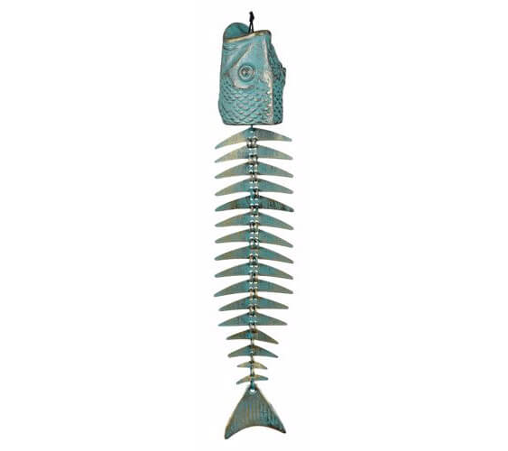 Fish bones wind chimes
