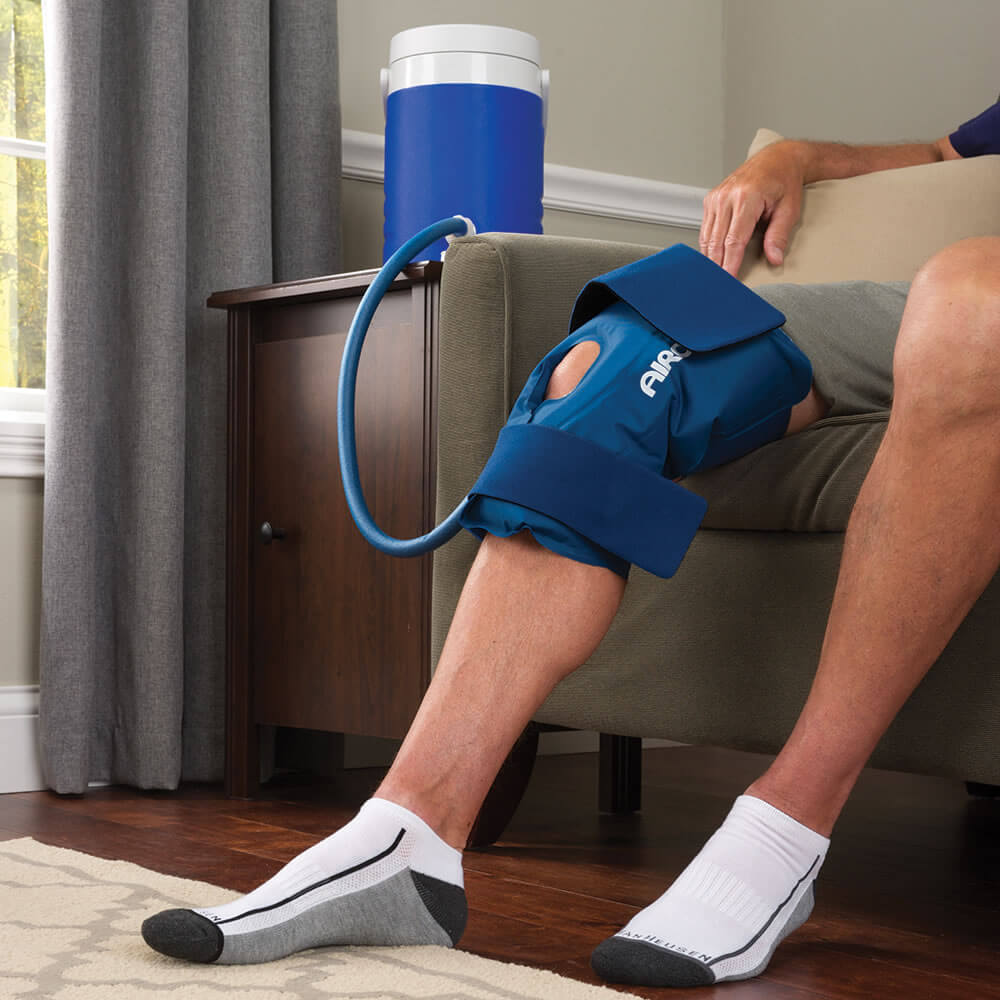 Hammacher Schlemmer cold knee wrap