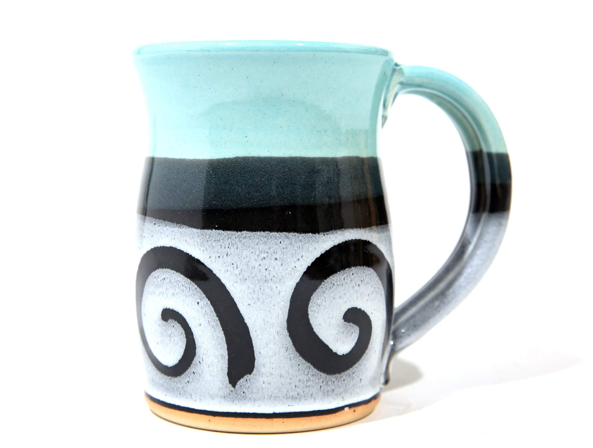 Hand-crafted pottery mug
