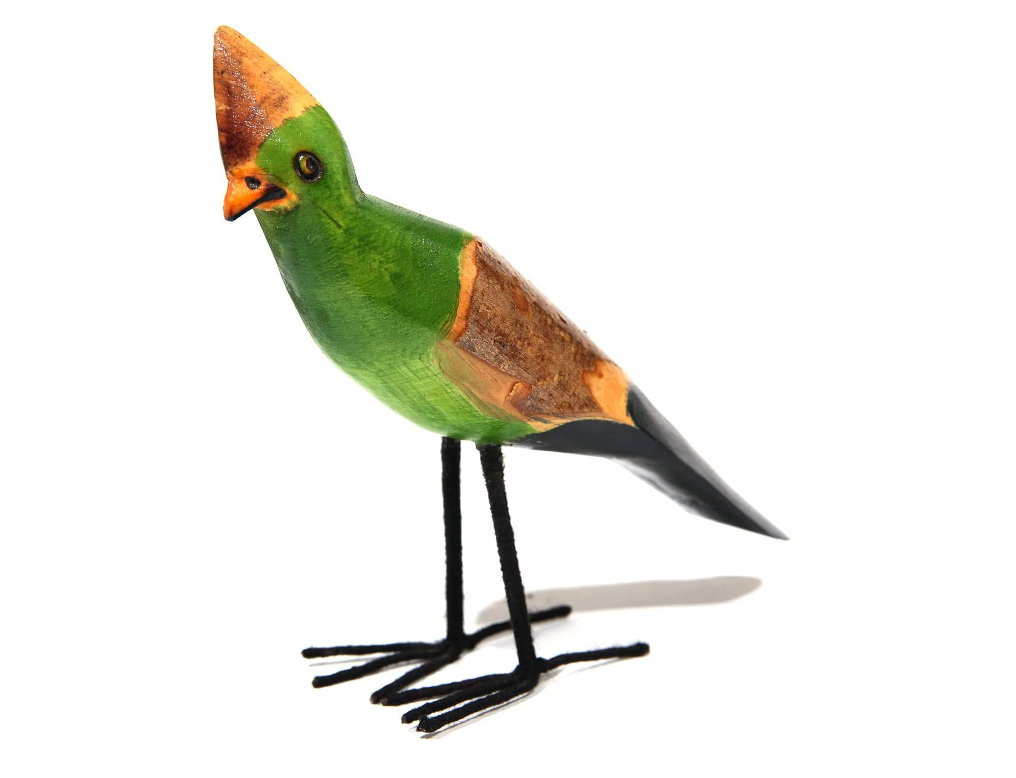 Hand-painted bird