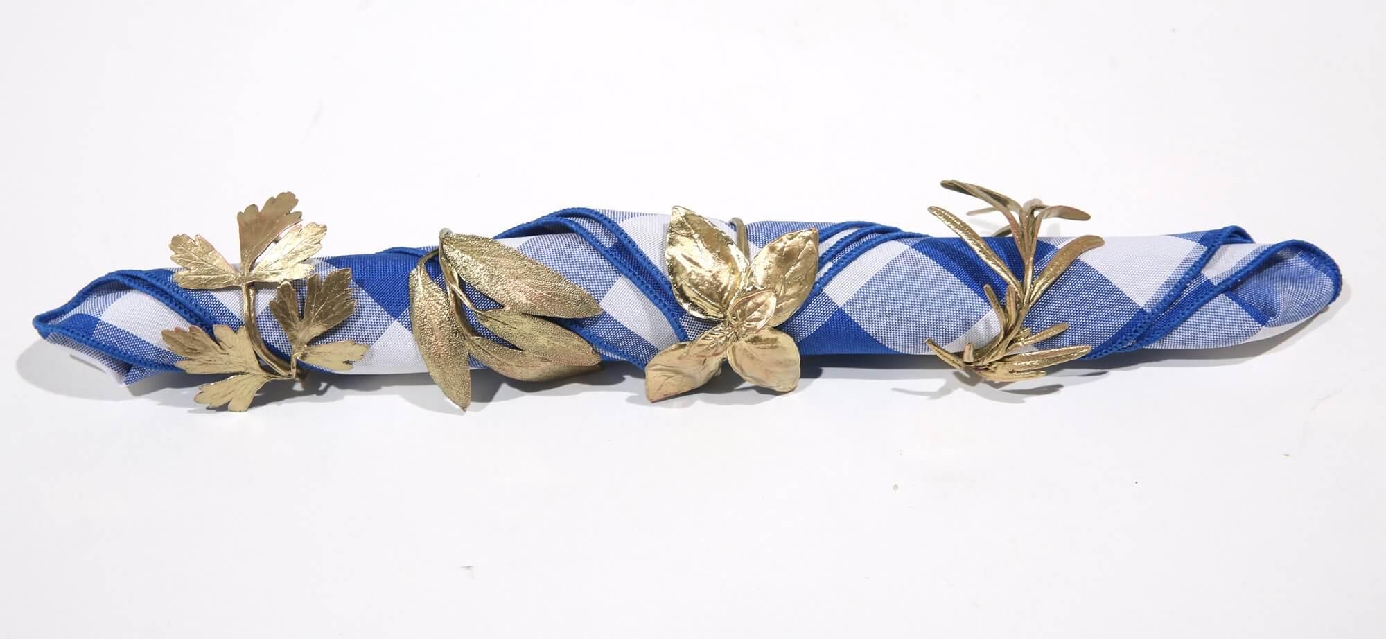 Italian herb napkin rings