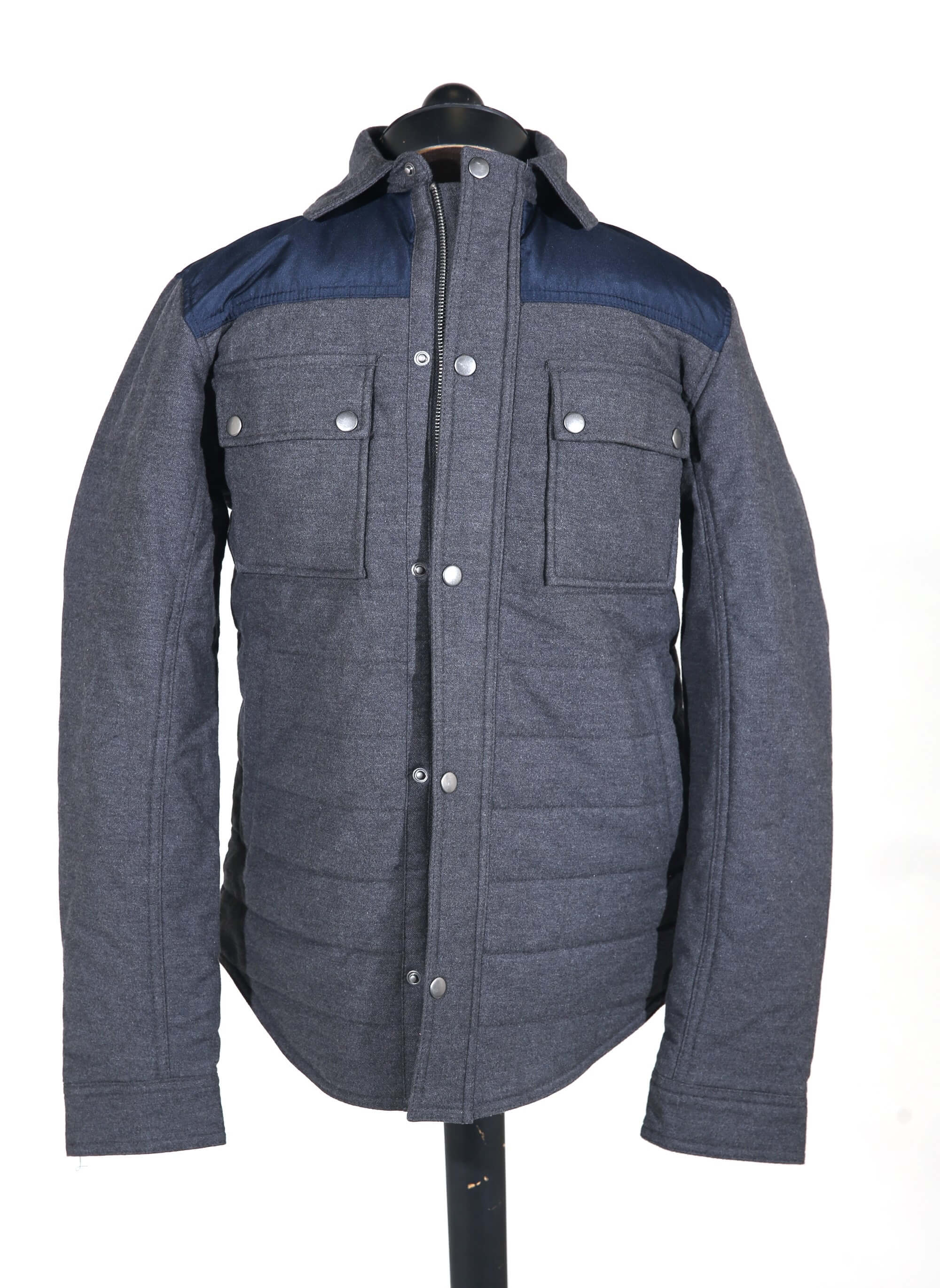 Image of Men's quilted jacket