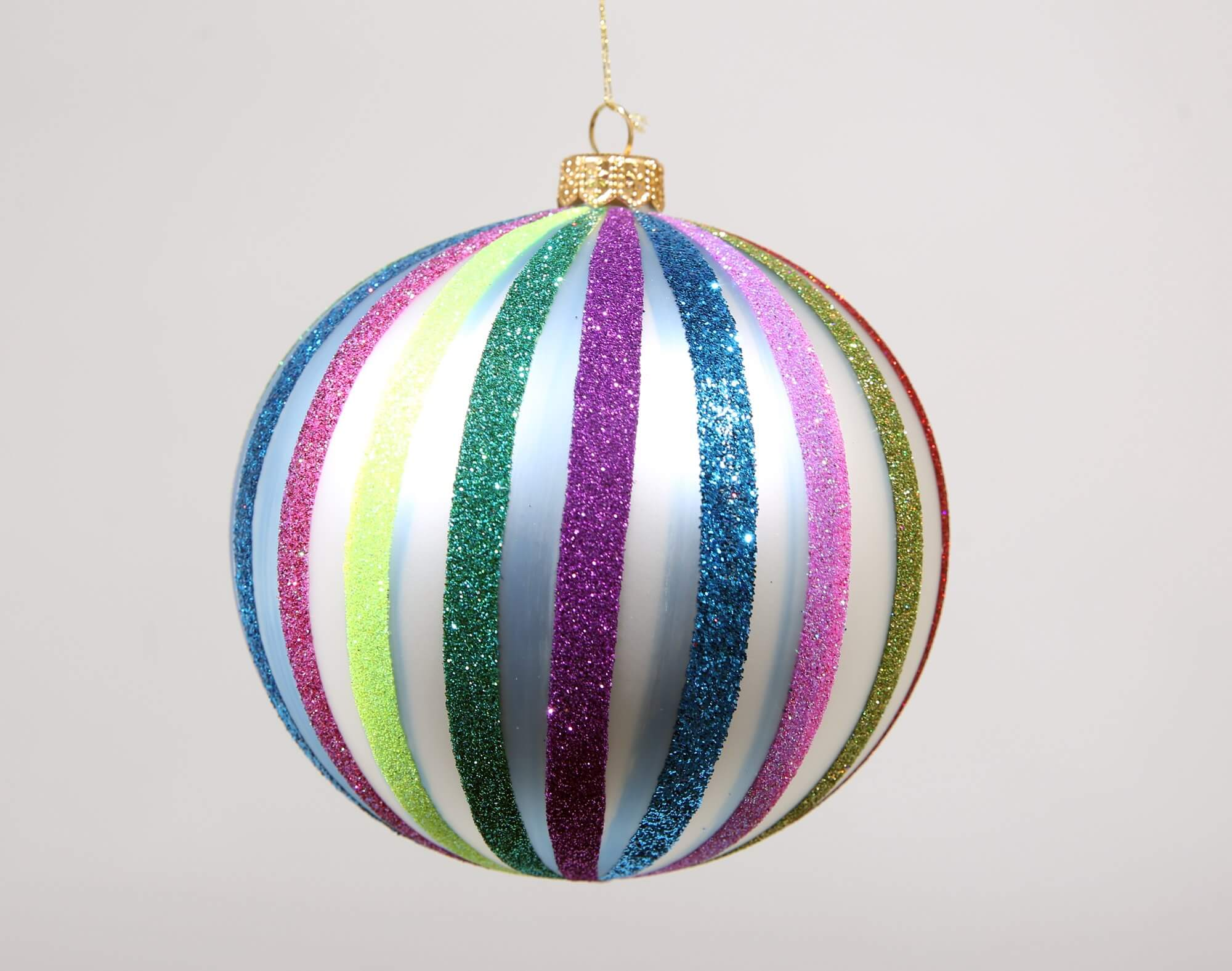 Multistripe ornament