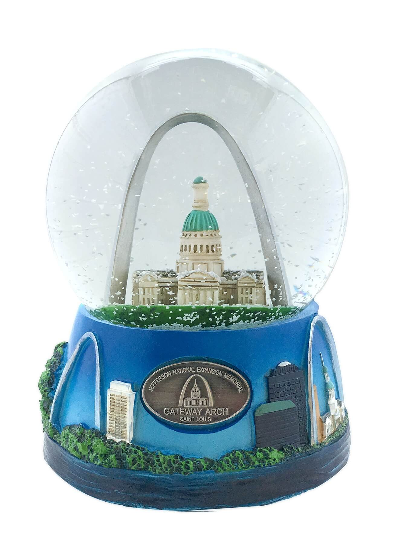 Image of Gateway Arch Musical Water Globe