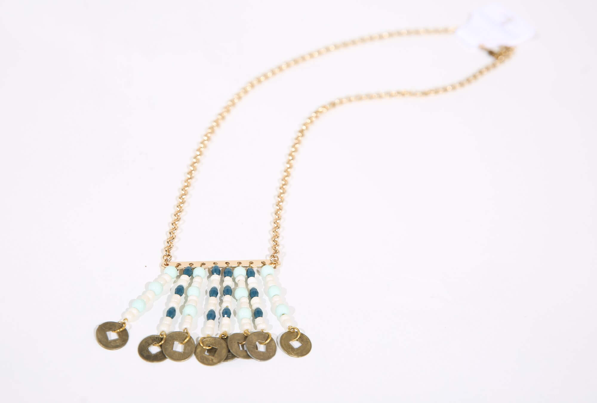Image of Necklace made from coins