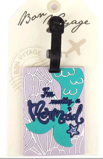 Quirky luggage tags