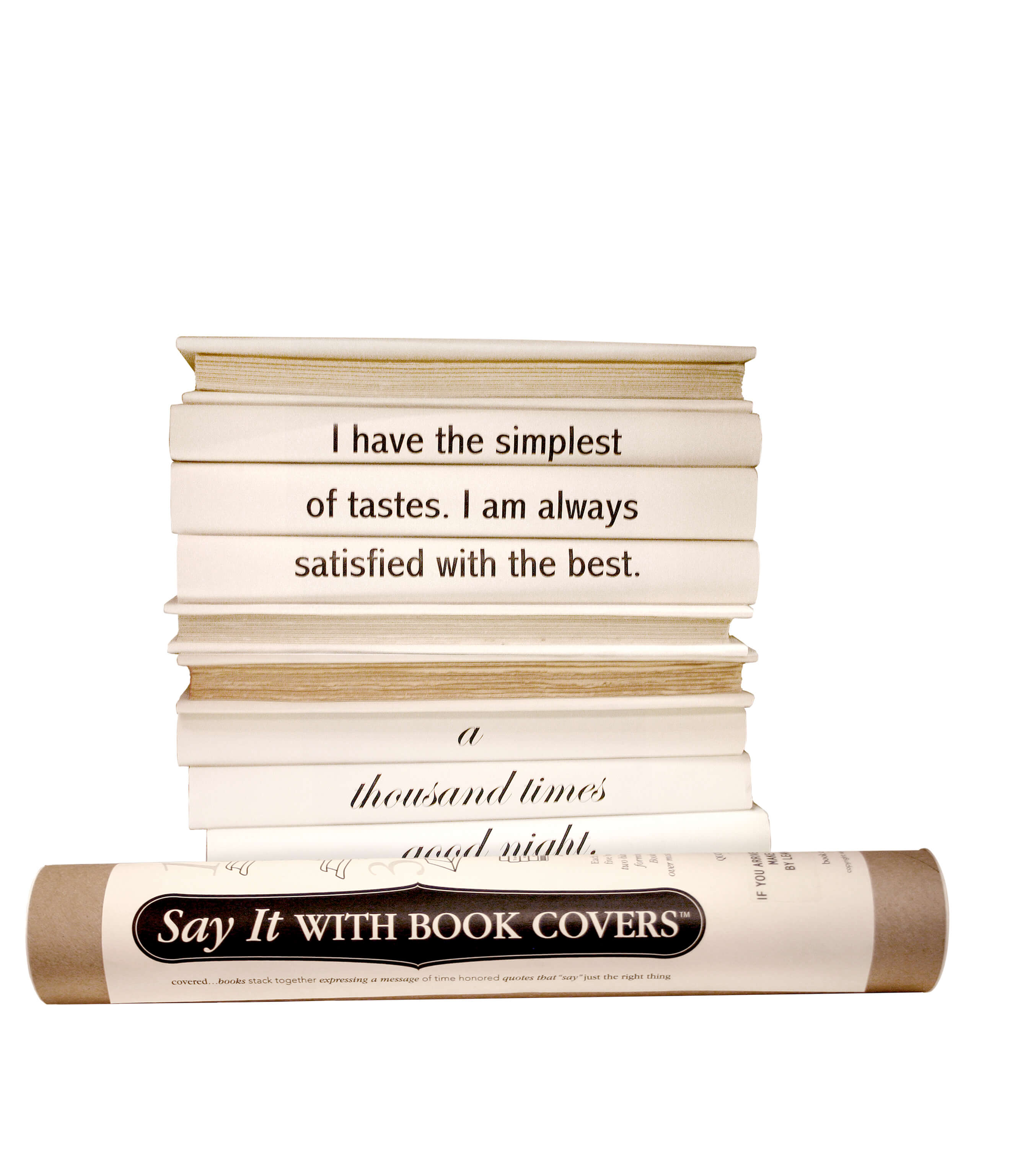 Image of Say it with Book Covers