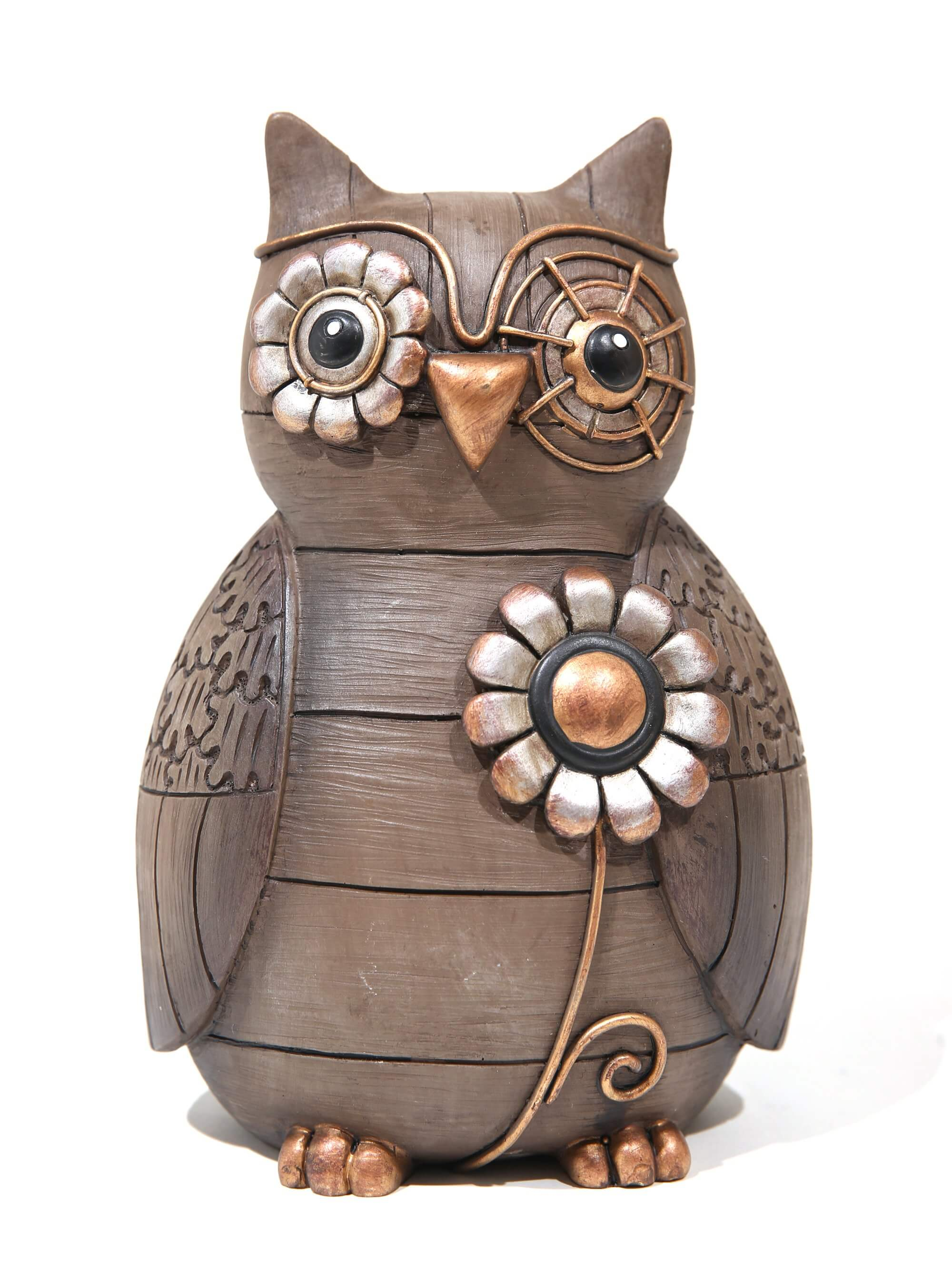 Image of Wise owl figurine